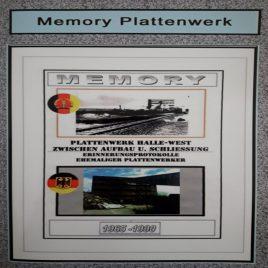 Memory-Plattenwerk-Halle-Neustadt